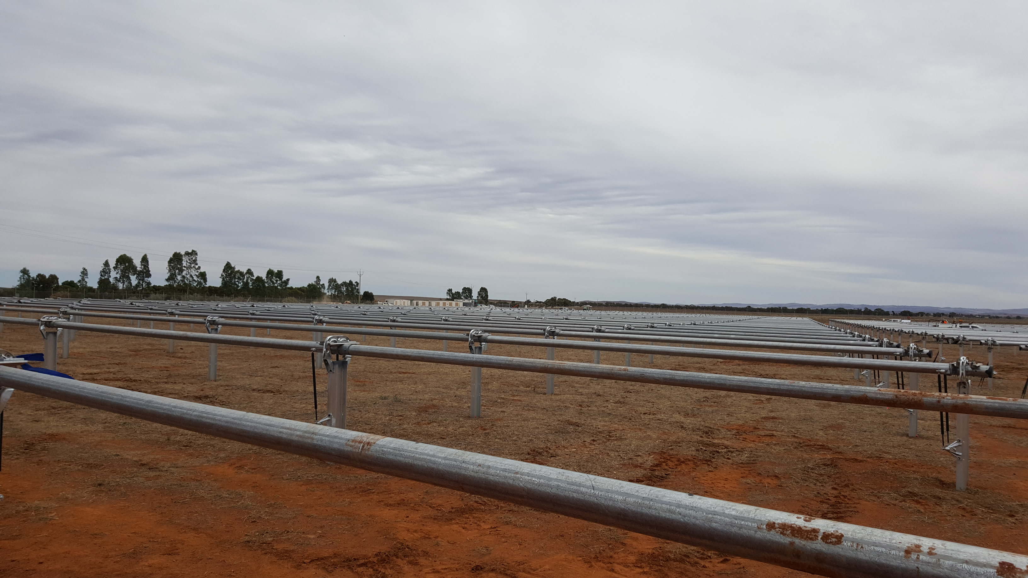 preparation of solar project
