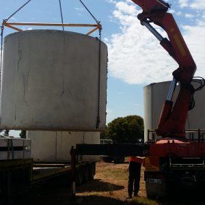 large tank