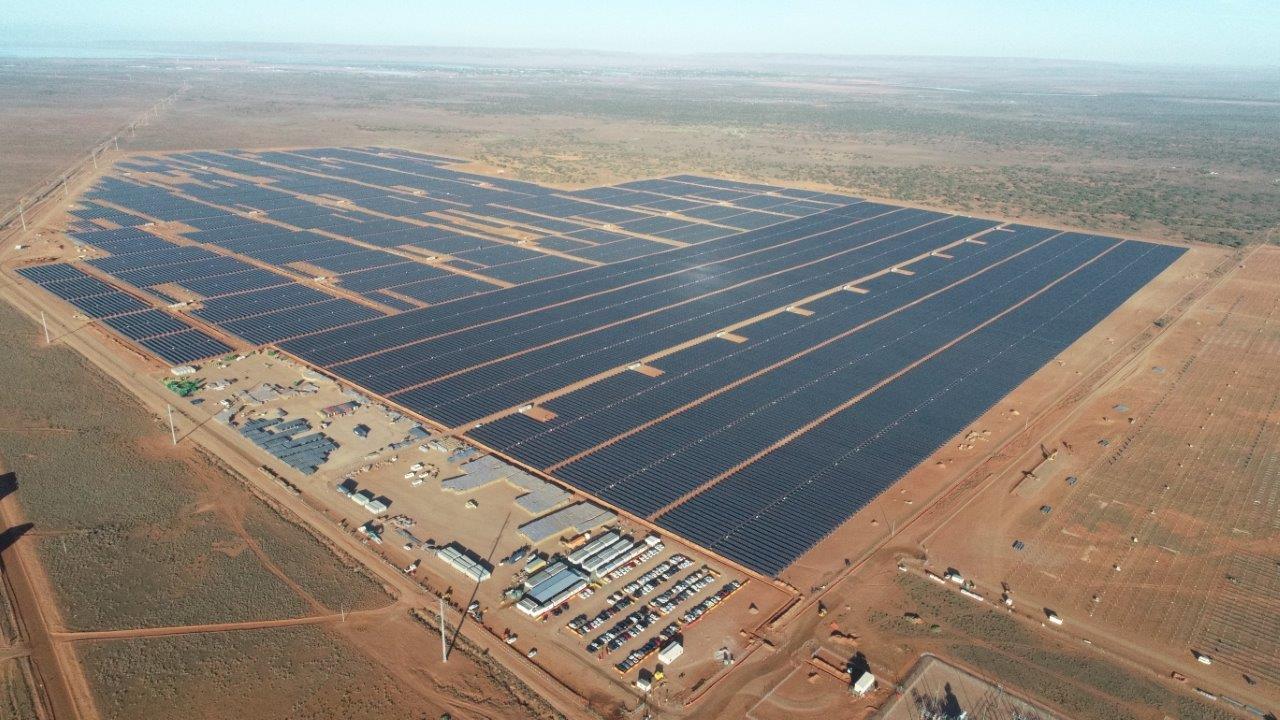 Drone- shot of solar