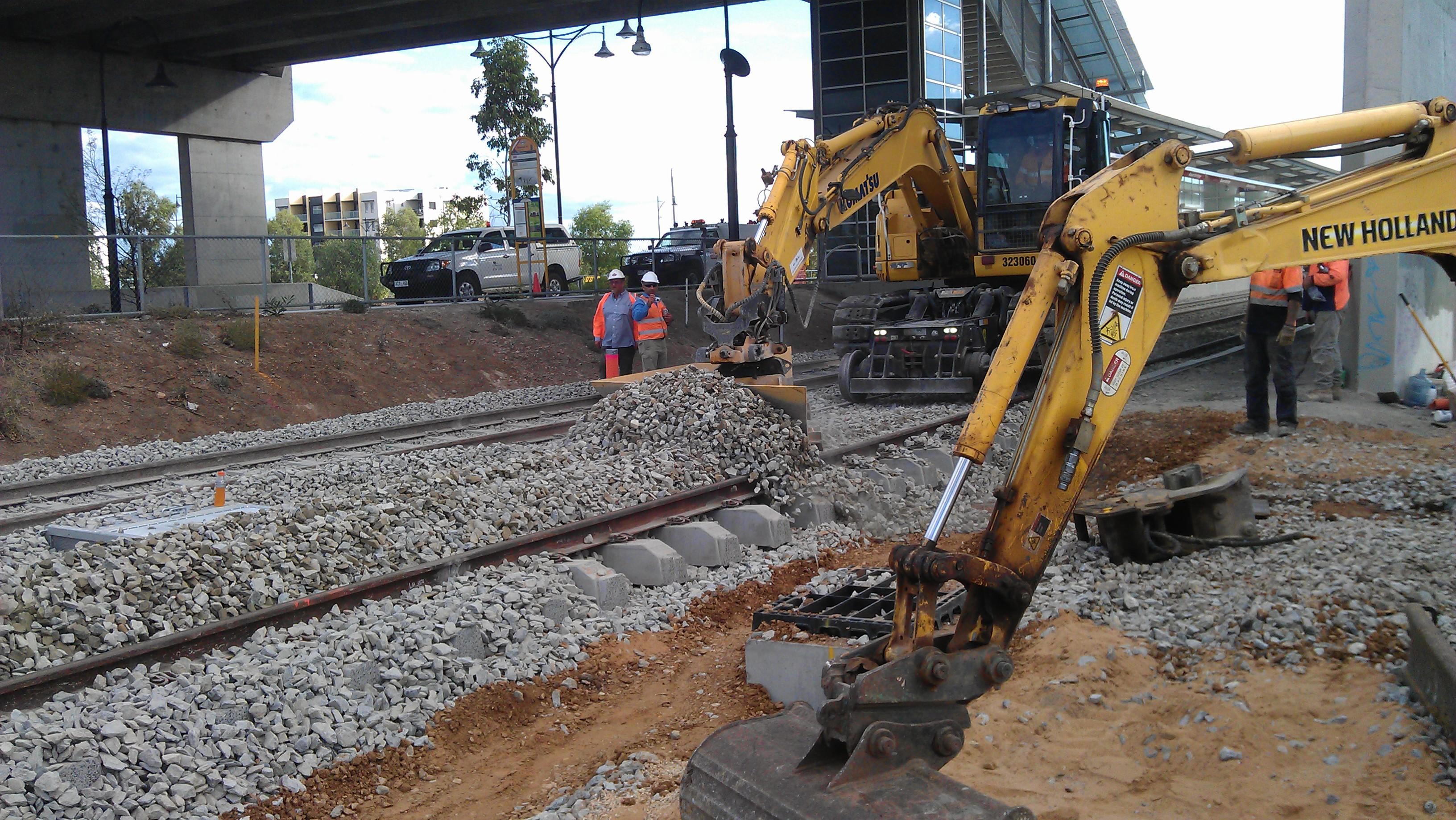 rail projects Australia