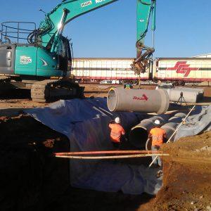 drainage works